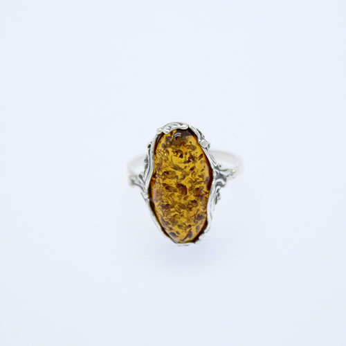 Genuine Baltic Amber Ring