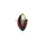 Multi Color Amber Ring