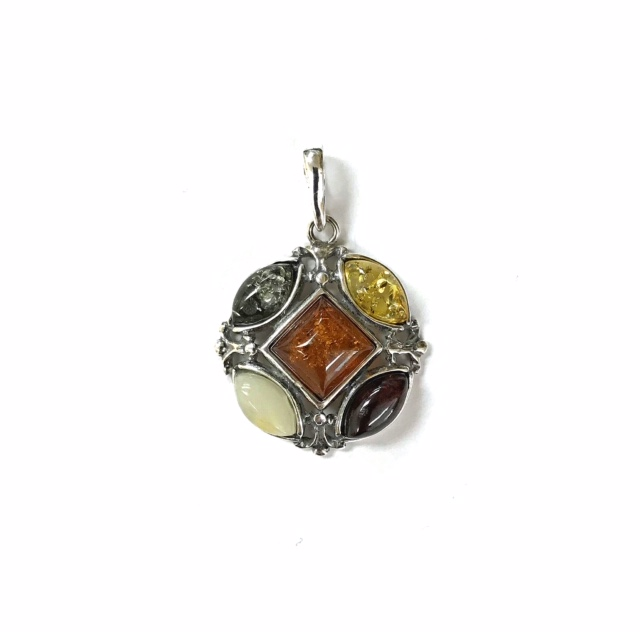 Natural Baltic Amber Pendant