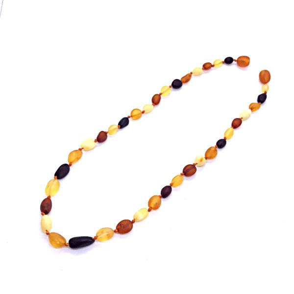 Genuine Raw Baltic Amber Baby/Teething Necklace