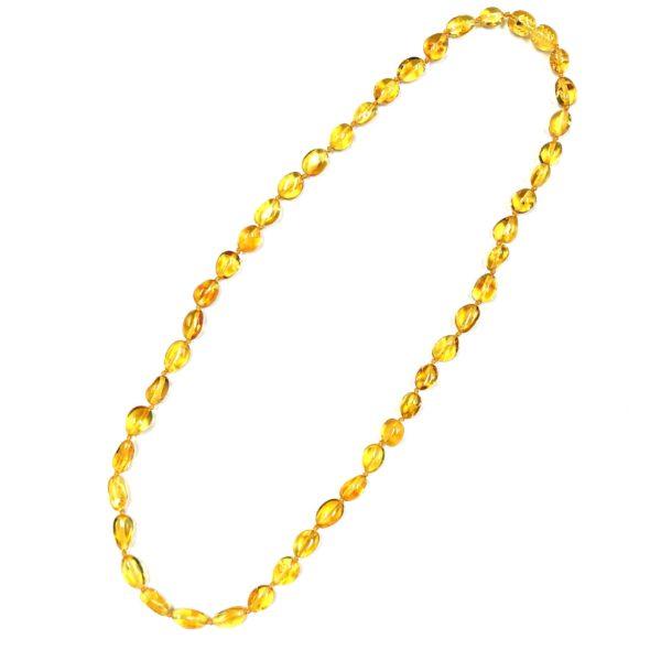 Natural Baltic Amber Necklace. Amberman.