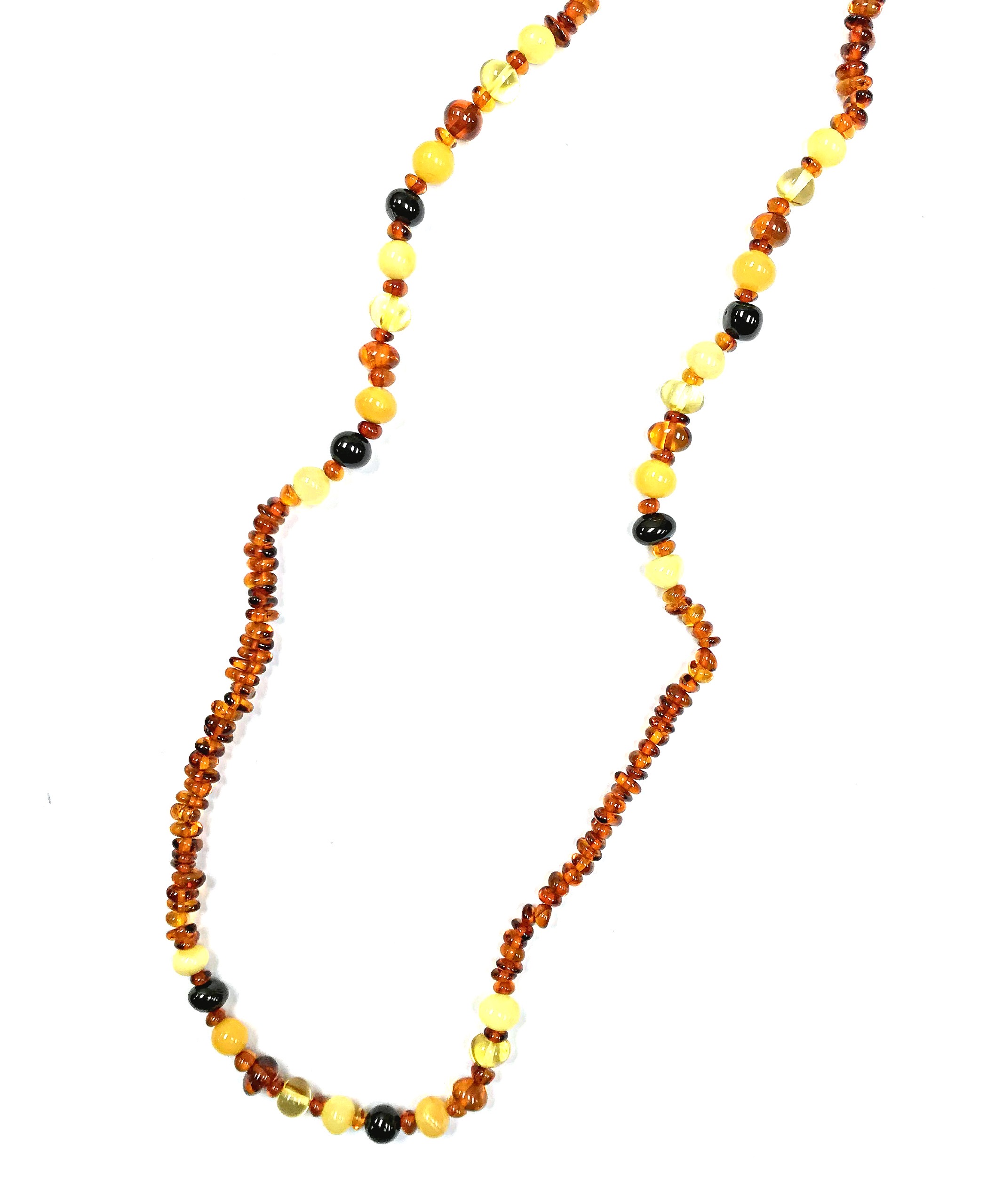 Natural Baltic Amber Necklace. Amberman.