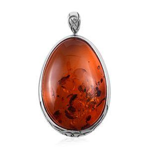Celtic Baltic Amber Pendant