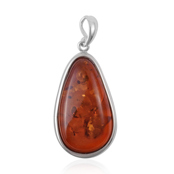 Free Form Baltic Amber Pendant