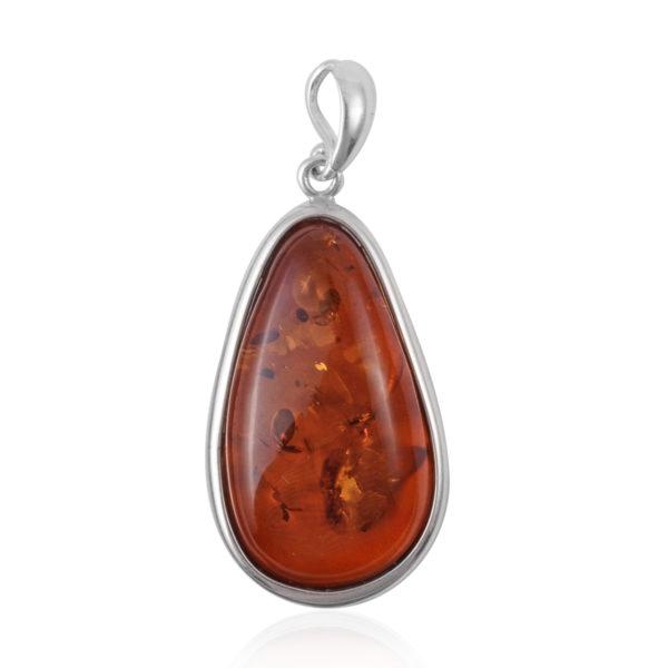 Free Form Baltic Amber Pendant