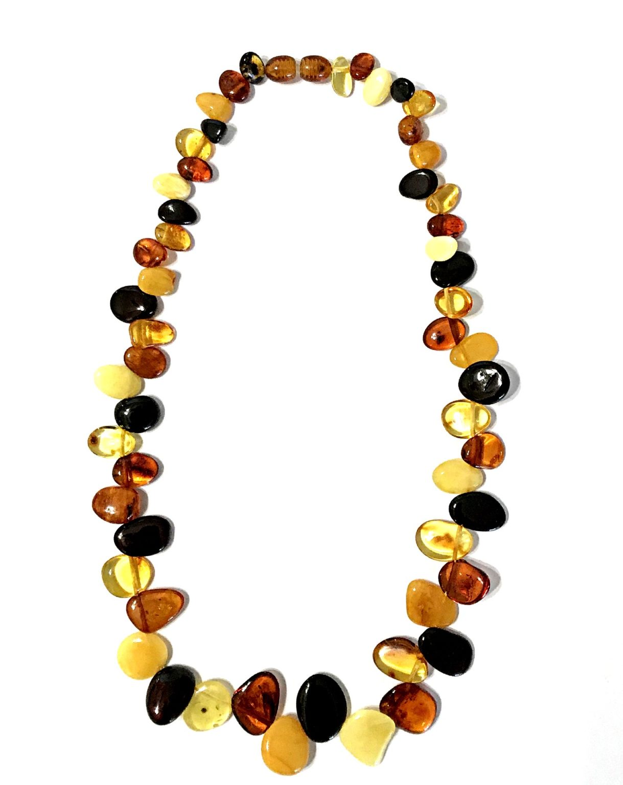 Genuine Baltic Amber Necklace. Amber jewelry.