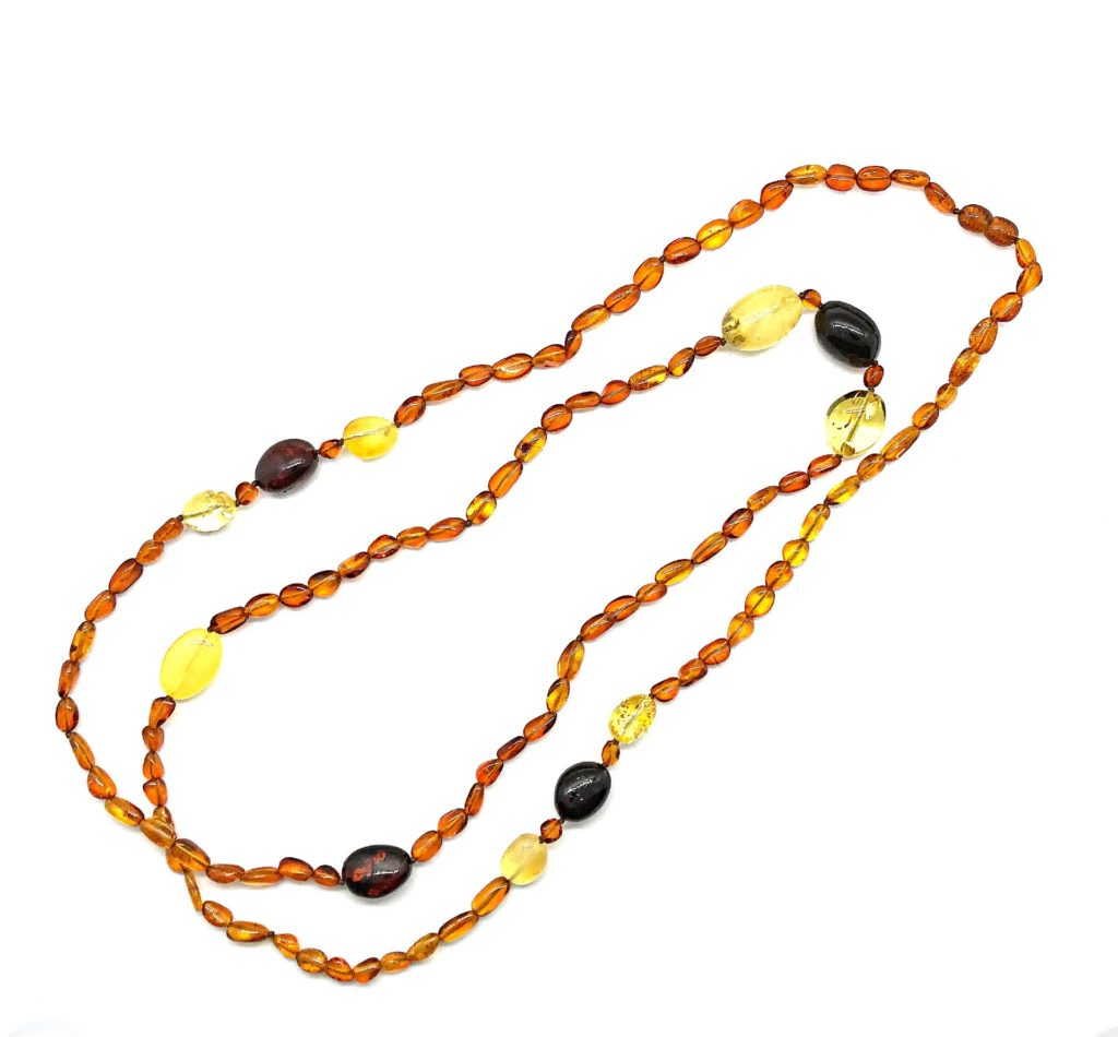Baltic Amber Bead Necklace