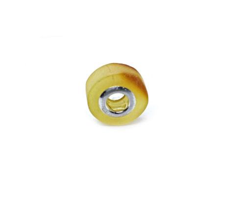 Amber Charm Bead/European Bead for Bracelet