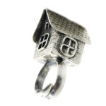 """Fairy Tale Collection Sterling Silver """"House"""" Ring"""