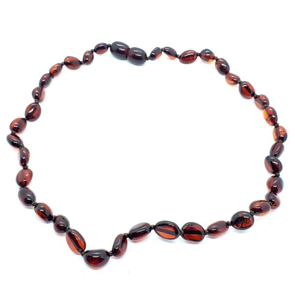 Cherry Baltic Amber Baby/Teething Necklace