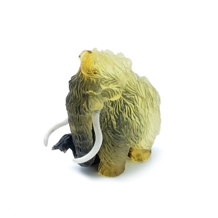 Natural Amber Carved Mammoth