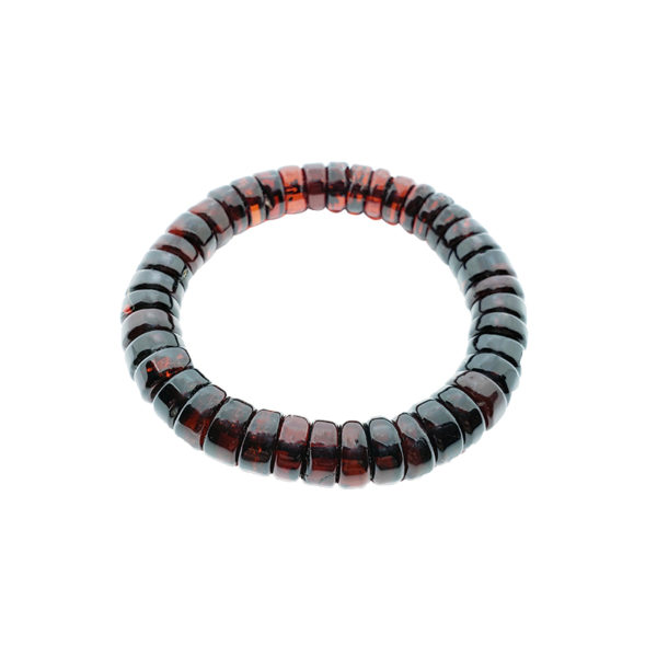 Cherry Amber Amber Stretch Bracelet