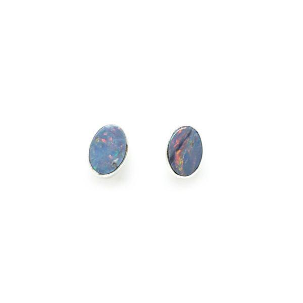 Opal Doublet Stud Earrings