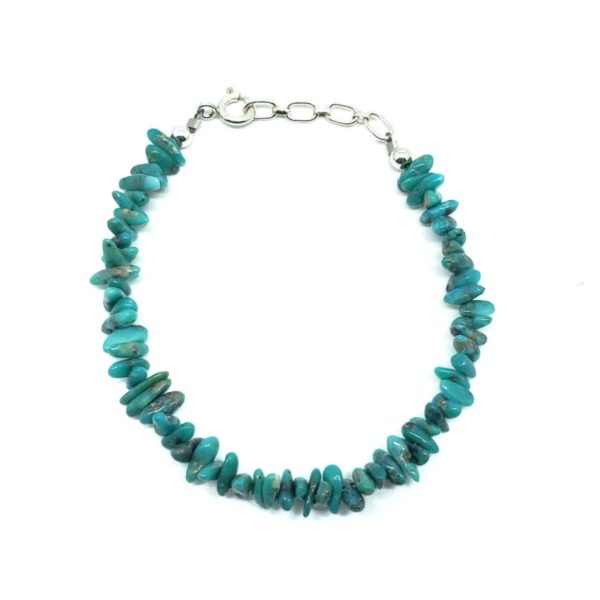 Sonoran Turquoise Bracelet With .925 Silver Clasp