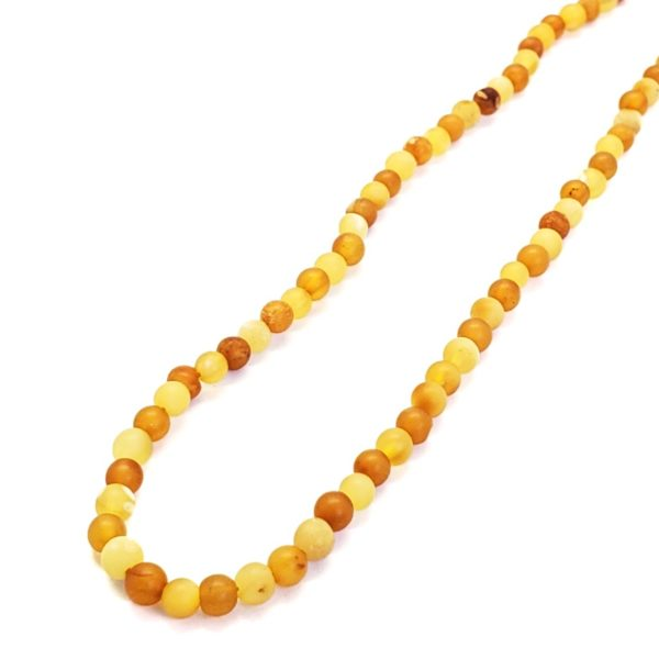 Butterscotch And Antique Color Amber Necklace